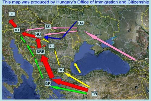Podoba: madžarski urad za imigrante